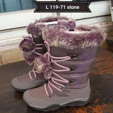 harga Jual Sepatu Boot Anak Cewek L119-71 Stone Diskon Blibli.com
