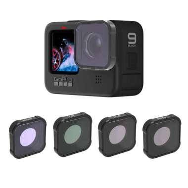 harga Filter Lensa Kamera Uv Cpl Nd4 Nd8 Nd32 Nd64 Untuk Gopro Hero 9 Blibli.com