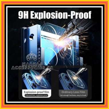 harga IPHONE 12 PRO 6.1 LENS CAMERA PROTECTOR 3D TEMPERED GLASS LENSA KAMERA - Clear Multicolor Blibli.com