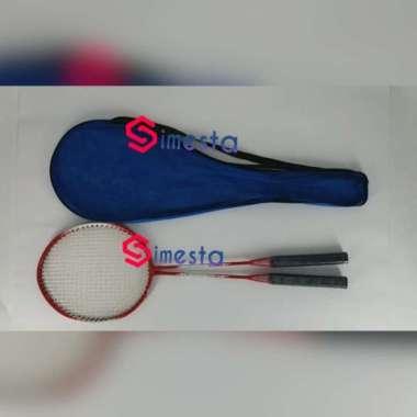 harga Raket badminton raket set isi 2 raket murah meriah Multicolor - Blibli.com