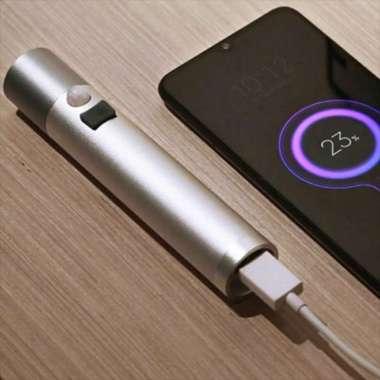 harga Xiaomi Lampu Senter Sensor Gerak Flashlight Emergency Lamp Powerbank Multicolor Blibli.com