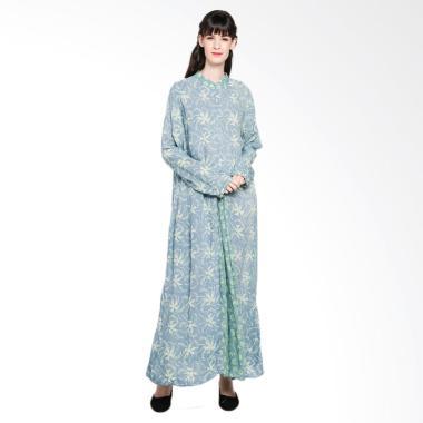 Baju Gamis Motif Bunga Batik Huza Jual Produk Terbaru Januari 2019