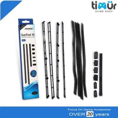 harga FREE ONGKIR Dust-Proof Cover Case Kit Filter Mesh Jack Stopper Pack PS4 Slim DOBE Blibli.com