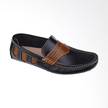 Catenzo Sepatu Pria - Hitam [MP 172]