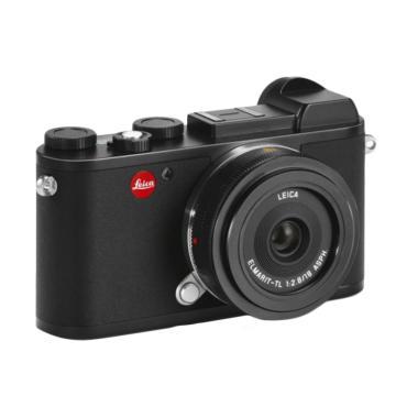 Leica CL Kit 18mm Lensa Digital Kamera Mirrorless - Black