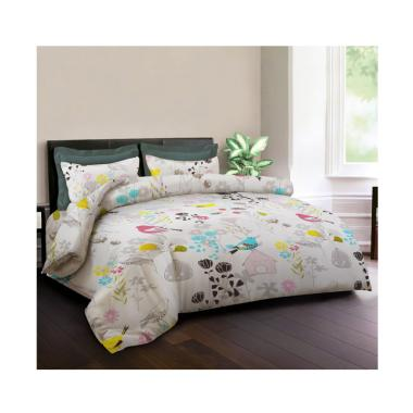 King Rabbit Motif Warbler Set Sprei