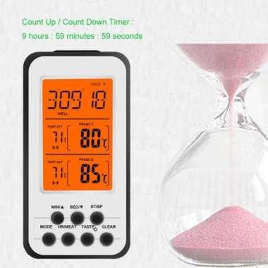 harga Termometer Dapur Makanan Masak Kopi Air Minyak Daging Wireless Digital Blibli.com