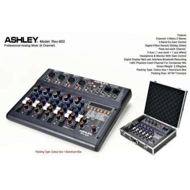 harga Mixer ashley rev 602 original 6 channel bluetooth MULTICOLOUR Blibli.com
