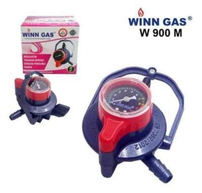harga PROMO WINN Regulator Tekanan Rendah Dengan Pengunci Ganda Double Lock W900 M - Tanpa Bubble Blibli.com