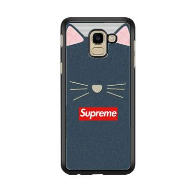 Acc Hp Cat Supreme W5794 Custom Casing for Samsung J6 2018