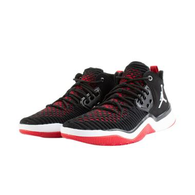 NIKE Jordan DNA LX Sepatu Basket - Black Red