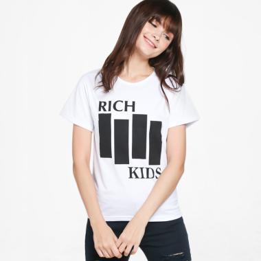 1a983cbfda JCLOTHES Kaos Wanita Tumblr Tee Branded Rich Kids