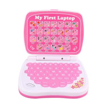 Pasaca QC731IE Indonesian & English learning Laptop Mainan Anak - Pink
