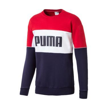 PUMA Retro Crew DK Peacot Sweater Olahraga Pria. Rp 899.000 a026697ae5