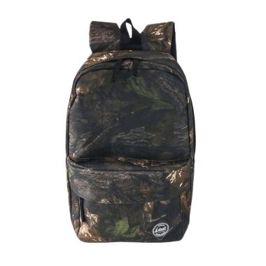 I Quit Backpack Casual Dark Woods Tas Ransel - Camo