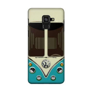 harga Indocustomcase VW Old Combi Adventure Blue Cover Casing for Samsung Galaxy A6 Blibli.com
