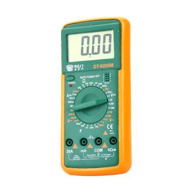 harga Best DT-9205M Handheld Digital Multimeter [2.8 Inch LCD/1 x 9 V/ 6F22] Blibli.com