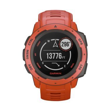 Garmin Instinct Flame GPS Watch - Red