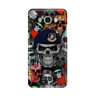 harga Indocustomcase Army Skull Sticker Bomb Cover Casing for Samsung Galaxy J5 2016 Blibli.com