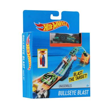 Hot Wheels Track Bullseye Blast Playset Diecast