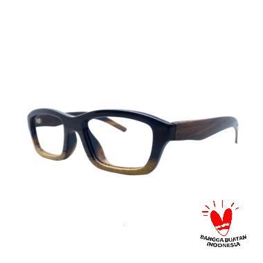 Sandel Eyewear Sport Frame Kacamata Minus - Coklat 4ba8c1328b