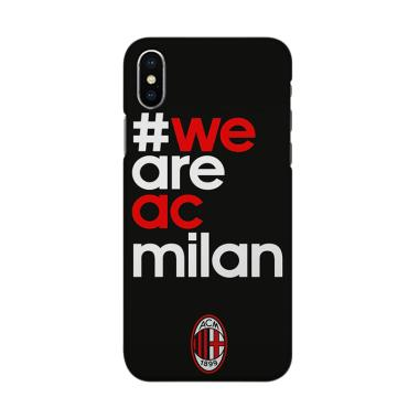 Indocustomcase We Are AC Milan 3 Cover Casing For IPhone XS Max