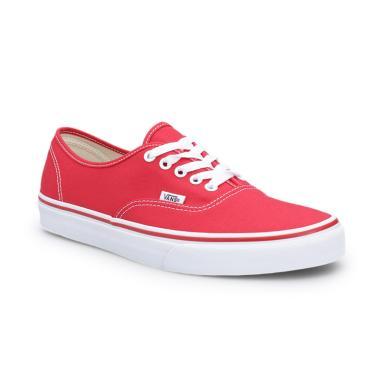 4c34602acf DIJAMINMURAH – Vans U Authentic Sepatu Pria - Red