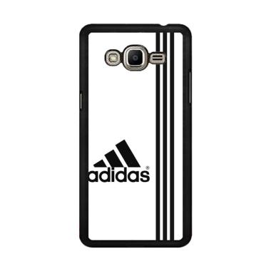 Flazzstore White Adidas X4543 Custom Casing for Samsung Galaxy J2 Prime