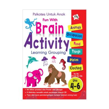 harga Happy Holy Kids Brain Activity Buku Edukasi Anak Blibli.com
