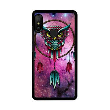 harga Flazzstore Dreamcatcher Owl R0109 Premium Casing for Xiaomi Redmi Note 6 Pro Blibli.com