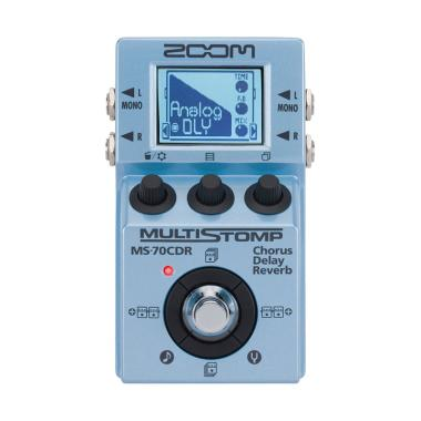 harga Zoom MS-70CDR MultiStomp Chorus/Delay/Reverb Pedal Blibli.com