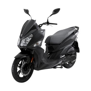 harga SYM JET 14 Sepeda Motor [VIN 2019/ OTR Jabodetabek] Matte Black JABODETABEK Blibli.com