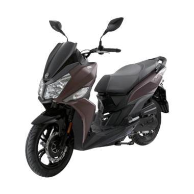 harga SYM JET 14 Sepeda Motor [VIN 2019/ OTR Jabodetabek] Matte Brown JABODETABEK Blibli.com
