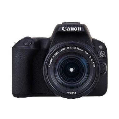 Canon Eos 200d Mark Ii Kit Ef S 18 55mm F 4 5 6 Is Stm Kamera Dslr