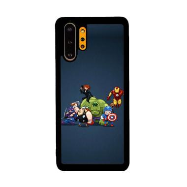Cannon Case Avengers Cartoon P1207 Custom Hardcase Casing for Samsung Galaxy Note 10+