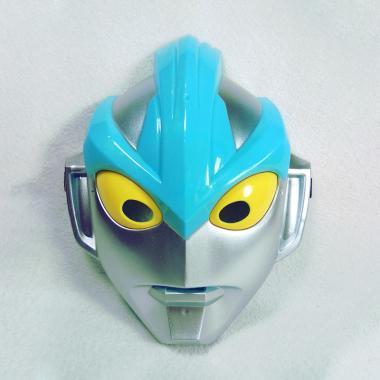 Oem Topeng Ultraman Ginga Biru Led Dan Suara