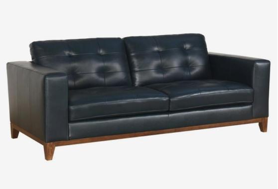 Sofa Bed Minimalis Di Bandung  jual furnistar laluna kulit minimalis sofa tamu free meja