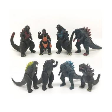 harga OEM Godzilla Monster Kaiju Action Figure [Isi 8 pcs] Blibli.com