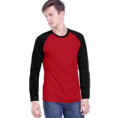 Jual Baju Kaos Lengan Panjang Polos Merah Terbaru Murah Blibli Com