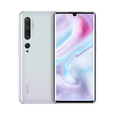 harga Xiaomi Mi Note 10 Pro Smartphone [256GB/ 8GB] white Blibli.com