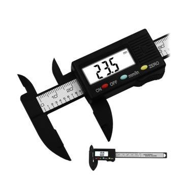 Professional 0-150MM Plastic Vernier Caliper Micrometer Guage Daily Tool cb