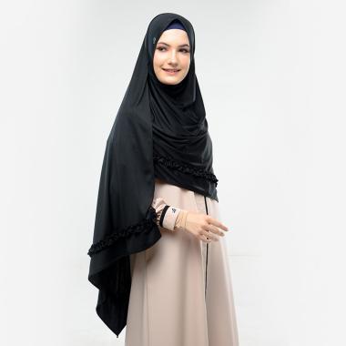 Jual Hijab Pashmina Hitam Polos Online Baru Harga Termurah November 2020 Blibli