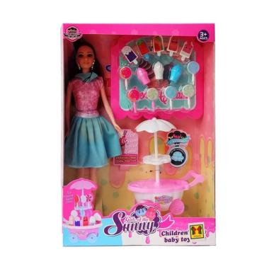 Jual Yoyo Toys Girls Of The Sunny Barbie Ice Cream Boneka Mini Sets Murah September 2020 Blibli Com