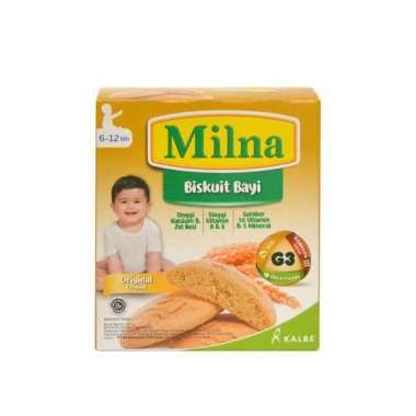 harga Milna Biskuit Bayi 6-12 Bulan Rasa Original [130gr] Blibli.com