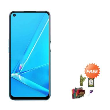 Oppo A92 Smartphone [8-128 GB] + Free Paket Sholat Wanita
