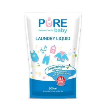 harga Pure Baby Liquid Laundry Sabun Cuci Pakaian Bayi [900 mL/ Kemasan Refill] Blibli.com