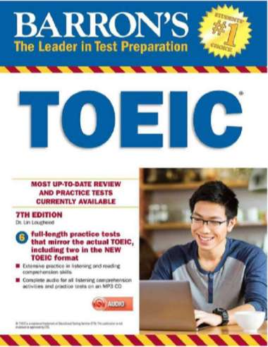 harga Barron's TOEIC 7th Edition With CD Audio Blibli.com