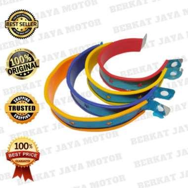 harga Kleman Knalpot Racing Braket Kenalpot Aksesoris motor Stainlees Univer KUNING Blibli.com