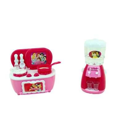 harga Mainan Masak masakan Mini Household (kompor+dispenser) Multicolor Blibli.com