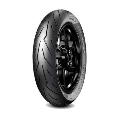 harga Pirelli Diablo Rosso Sport 70/90-14 Ban Motor Matic Tubeless + Pentil & Cairan Anti Ban Bocor M-One Blibli.com